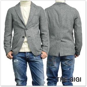 THE GIGI ザ ジジ メンズシングル2Bジャケット ANGIE G003 ブラック×ホワイト|tre-style