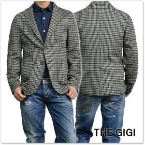 THE GIGI ザ ジジ メンズシングル2Bジャケット ANGIE G098 カーキ×ネイビー|tre-style