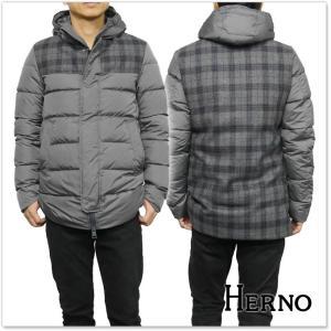 HERNO ヘルノ メンズダウンジャケット PI0275U 12004 グレー|tre-style