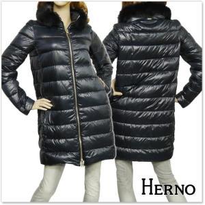 HERNO ヘルノ レディースダウンコート PI0486D 12017 ブラック|tre-style