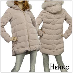 HERNO ヘルノ レディースダウンコート PI0528D 19341 ベージュ|tre-style