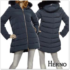 HERNO ヘルノ レディースダウンコート PI0528D 19341 ブラック|tre-style