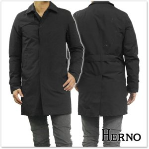 HERNO ヘルノ メンズライナー付き2WAYステンカラーダウンコート LAMINAR / PI077UL 11101 ブラック|tre-style