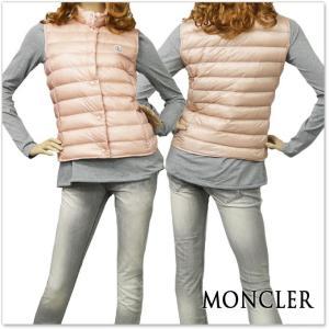 MONCLER モンクレール レディースダウンベスト LIANE / 48303-99-53048 ピンク|tre-style