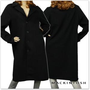 MACKINTOSH マッキントッシュ レディースラグランウールコート GM-024F DU01 ブラック|tre-style