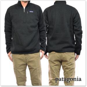 PATAGONIA パタゴニア メンズフリースプルオーバー 25522/M'S BETTER SWEATER 1/4ZIP(ベターセーター1/4ジップ) BLK ブラック /2017秋冬新作|tre-style