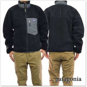 PATAGONIA パタゴニア メンズフリースジャケット 23056/M'S CLASSIC RETRO-X JACKET(クラシックレトロXジャケット) BFO ブラック /2017秋冬新作|tre-style