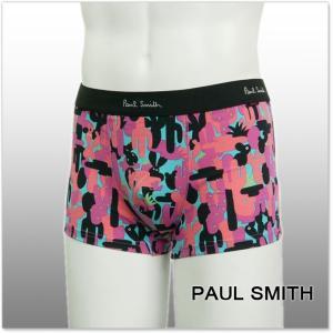 PAUL SMITH ポールスミス アンダーウェア ボクサーパンツ ATXC 121D U630 ピンク /2017秋冬新作|tre-style