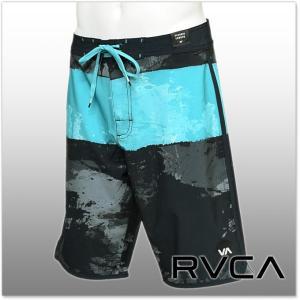RVCA ルーカ メンズボードショーツ/サーフパンツ SPLICE TRUNK / AG041-509 ブラック|tre-style