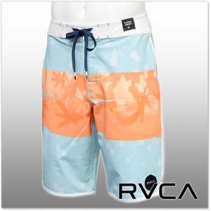 RVCA ルーカ メンズボードショーツ/サーフパンツ CHOPPED TRUNK / AH041-505 ライトブルー|tre-style