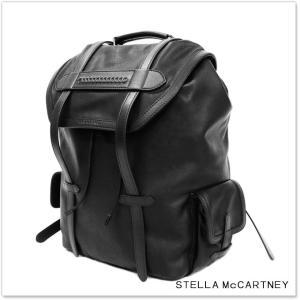 STELLA McCARTNEY ステラマッカートニー アルターナッパバックパック 483328 WU017 ブラック /2017秋冬新作|tre-style