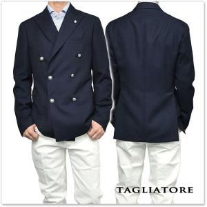 TAGLIATORE タリアトーレ メンズダブル6Bジャケット MONTECARLO / 1SMC20K 12UEG225 ネイビー|tre-style