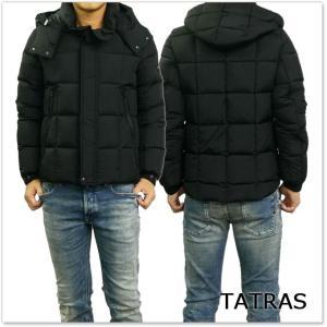 TATRAS タトラス メンズダウンジャケット BOESIO / MTA18A4379 ブラック /2017秋冬新作 tre-style