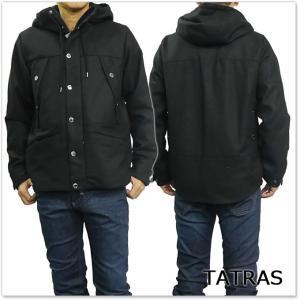 TATRAS タトラス フーデッドブルゾン SELVATICO / MTK18A457 ブラック /2017秋冬新作 tre-style