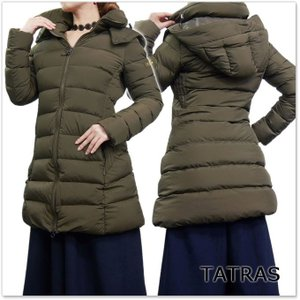 TATRAS タトラス レディースダウンコート POLITEAMA / LTA18A4496 モカ /2017秋冬新作 tre-style
