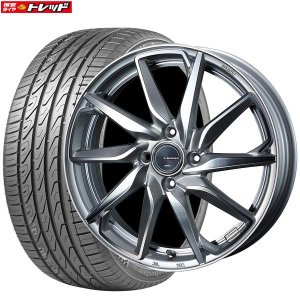 レオニスグレイラα 6.5J+50 4H100 17インチ 205/45R17 SuperSportChaser-SSC5 新品タイヤ 新品ホイール weds お取り寄せ 送料無料 インチアップ|tread-tire2011