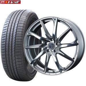 レオニスグレイラα 7J+47 5H114.3 18インチ 215/45R18 WINRUN R330 新品タイヤ 新品ホイール weds お取り寄せ 送料無料 インチアップ tread-tire2011