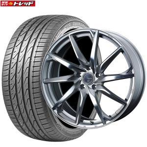 レオニスグレイラα 7J+47 5H114.3 18インチ 225/60R18 SuperSportChaser-SSC5 新品タイヤ 新品ホイール weds お取り寄せ 送料無料 インチアップ tread-tire2011