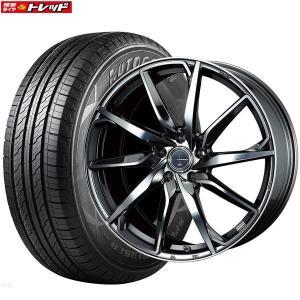 レオニスグレイラα 7J+55 5H114.3 18インチ 225/60R18 SuperSportChaser-SSC6 新品タイヤ 新品ホイール weds お取り寄せ 送料無料 インチアップ tread-tire2011