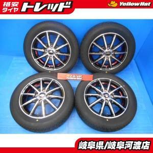 ♪アンダーカットレッドクリア!新品夏タイヤセット♪【軽自動車に♪】A-TECH シュナイダー SX-2 BS 155/65R14インチ 4本set 2018年製造 ブラックポリッシュ tread-tire2011