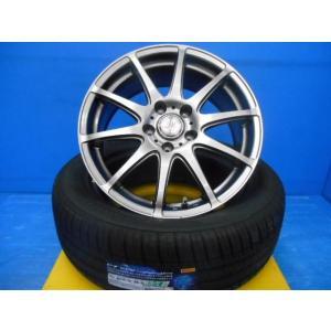 お値打ち!17インンチミニバンサイズ・中古アルミと新品タイヤセット品! エスティマ・エルグランド・MPV・デュアルス・等に tread-tire2011
