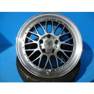 走行わずか中古ホイール 新品タイヤ 4本セット ギスラベット 215/45R17 新品アウトレット品 レグザス M110 中古品 ノア ヴォクシー ステップワゴン|tread-tire2011