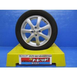 (お買い得品)ダンロップ アルミホイール 15x4.5+43 4-100 + ヨコハマ ブルーアース 165/65R15 中古4本セット tread-tire2011