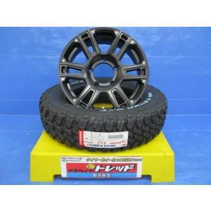(ジムニー専用)AT-W XX16x5.5J+20 139.7 5H + ナンカン FT-9 ホワイトレター 175/80R16 4本セット|tread-tire2011