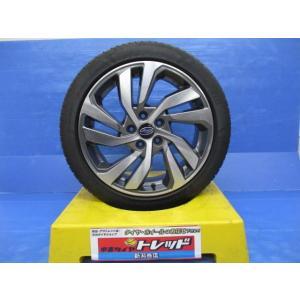 スバル レヴォーグ 純正アルミ 18x7.5J+55 5H114.3 + ピレリ DRAGON SPORT 225/45R18  4本セット!!|tread-tire2011