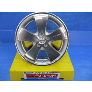 Gコーポレーション エステータス スタイルS 18x8.0J+45 5H114.3 4本セット!!|tread-tire2011