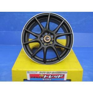 マルカサービス A-TECH ペンタクロス  17x7.0J+48 5H100   4本セット!!|tread-tire2011