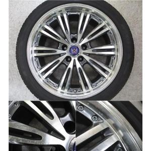 4本 18inch クラウン HS マークX STEINER シュタイナー ブラック ホイール タイヤ セット 225/45R18 送料無料 AWS210 AWS211 GRS200 GRS201 GWS204 AWS215|tread-tire2011|03