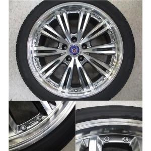 4本 18inch クラウン HS マークX STEINER シュタイナー ブラック ホイール タイヤ セット 225/45R18 送料無料 AWS210 AWS211 GRS200 GRS201 GWS204 AWS215|tread-tire2011|04