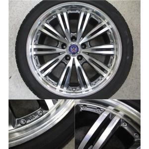 4本 18inch クラウン HS マークX STEINER シュタイナー ブラック ホイール タイヤ セット 225/45R18 送料無料 AWS210 AWS211 GRS200 GRS201 GWS204 AWS215|tread-tire2011|05