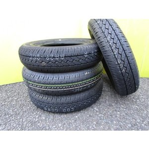 エブリー キャリー ハイゼット バモス クリッパー サンバー ミニキャブ BRIDGESTONE K305  145/80R12 6PR LT サマータイヤ 145/80/12 ボンゴ バネット デリカ tread-tire2011