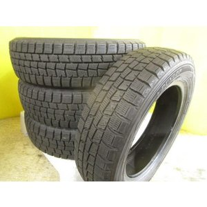 ラパン ワゴンR ムーブ キャンパス タント 中古 ダンロップ ウインターマックス WM01 155/65R14 4本 国産 スタッドレス デイズ N-BOX ミラ ミラジーノ 155/65/14 tread-tire2011