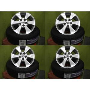 【新品】ブリヂストン プレイズ PX-RV 215/65R16 98H 2016年製+【中古】20系アルファード純正 16インチ 4本セット!|tread-tire2011