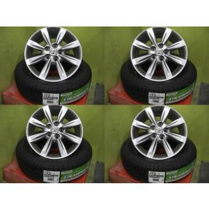 【新品】ブリヂストン エコピア EX20 RV 195/65R15 91H 2016年製+【中古】ウィッシュ純正 15インチ 4本セット!|tread-tire2011