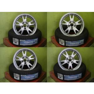 中古 トヨタ 30プリウス純正 15インチ 6J+45 5H100&新品 夏 サマータイヤ ブリヂストン Playz PX 195/65 R15 91H 4本セット|tread-tire2011