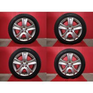 スバル BP型レガシィアウトバック純正 17x7J+48 5H-100&YH iceGUARD50+ 215/55R17 15年製造 中古4本セット フォレスター 流用等にも|tread-tire2011