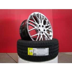 Carlsson 1/10X RSR 19x8.5/9.5J+40 5H-114&GoForm Zonda 225/40R19 19年製造 新品4本set  クラウンアスリート クラウンマジェスタ 等に|tread-tire2011