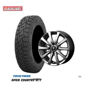 新品タイヤ&新品ホイール・4本 送料無料 トーヨータイヤオープンカントリーRT145/80R12 80/78N+ホイール(ユーロスピードG10)エブリイなど|tread-tire2011