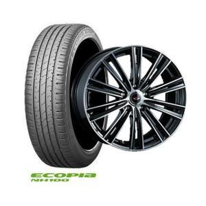 新品タイヤ&新品ホイール・4本 送料無料 ブリヂストンエコピアNH100 205/60R16 2017年製+ホイール(TEAD SNAP)ノア、ヴォクシー、アクセラなど|tread-tire2011