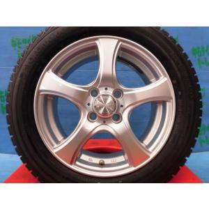 アクア スペイド キューブ 中古 ヴァイオレント 15インチ 5.5j 4H100 +42 ヨコハマ アイスガードIG30 175/65R15 4本 未使用 スタッドレス スイフト ヴィッツ|tread-tire2011