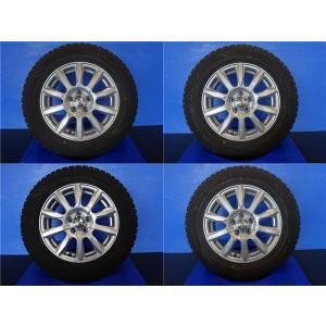 中古4本セット ウェッズ ジョーカー 15インチ 6J +43 5H100 ノーストレック N3 195/65R15 195/65-15 プリウス アリオン ビスタ|tread-tire2011
