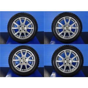 【送料無料】【中古】4本セット スポーツテクニック ユーロバーン 15インチ 5.5J +47 4H108 ダンロップ WM01 185/55-16 185/55R15 フォード|tread-tire2011