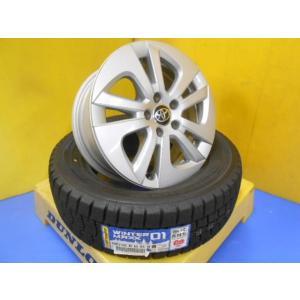 トヨタ プリウス 純正 中古 15インチ 6.5J+40 5穴 新品 ダンロップ ウインターマックス WM01 195/65R15 ウィッシュ アリオン スタッドレス|tread-tire2011