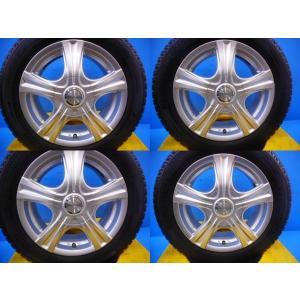 【送料無料】CP系プレマシーにベストマッチ【中古スタッドレス4本アルミ付】ミシュラン X-ICE XI-2 185/60R15 BLOWS MIRVA 15-6.0 5H100・114.3 +53 tread-tire2011