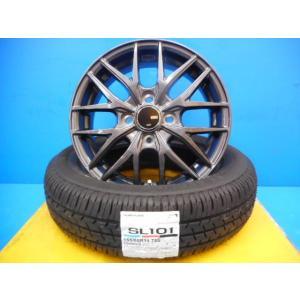 新品 タイヤホイール4本セット VENES FS01 セイバーリング 155/65R14 タント N...
