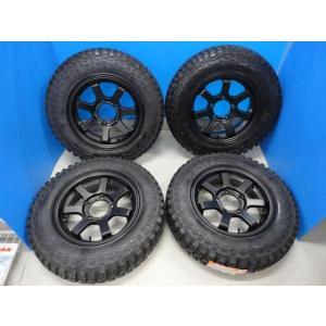 新品 ジムニー 16インチゴツゴツセット MRT ZW-03 5.5J+20 5穴 PCD 139.7 & マキシス M8060 185/85R16 105/103L 2017年|tread-tire2011
